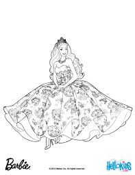 Barbie THE PRINCESS POPSTAR Coloring Pages And Princess