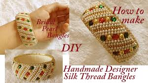 DIY || How To Make Designer Bridal Silk Thread Bangles At Home ... Bresmaid Jewelry Ideas How To Choose For Bresmaids Bold Design Ideas To Make Pearl Necklace Making With Beads Diy New What Is Projects Cool Home Luxury Under Make Embroidered Patches Blouses And Sarees At Jewellery Work Villa 265 Best Moore Jewelry Images On Pinterest Making Design An Ecommerce Website Xmedia Solutions Blog Decorating A Small Bedroom Decorate Really Learn How Jewellery Home With Insd Let Us Publish Backyards Woodworking Box Plans Free Download