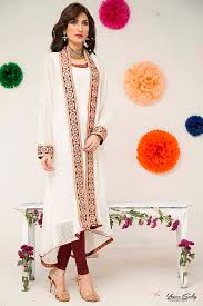 Latest Eid Formal Dresses By Zainab Hasan Collection 2015 2016