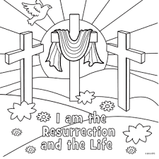 Free Printable Christian Easter Coloring Pages