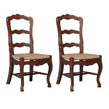 Furniture Classics 1144 French Country Ladderback Side White Wicker ... Antique Set Of 12 French Louis Xv Style Oak Ladder Back Kitchen Six 1940s Ding Chairs Room Chair Metal Oak Ladder Back Chairs Avaceroclub Fniture Classics Solid Wood Wayfair 10 Rush Seat White Painted Country Shabby Chic Cottage In Theodore Alexander Essential Ta Farmstead A 8 Nc152 Bernhardt Woven