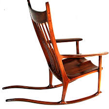 Rocking Chair Maloof Inspired Sculpture By Alok Mital