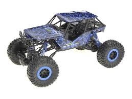 1/10 Crazy SUV Rock Crawler RC Monster Truck Electric 4WD 2.4 Blue ...