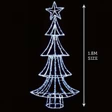 10ft Christmas Tree Uk by Outdoor Christmas Trees Buy Now From Festive Lights