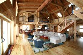 Barn Style Floor Plans House Beautiful Pole Metal Rustic Home Top Interior