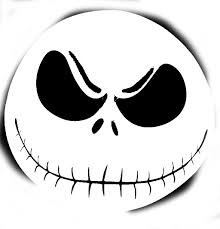 Pumpkin Carving Templates Famous Faces by Free Printable Jack Skellington Pumpkin Carving Stencil Templates