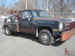 Wheel Lift Wrecker Tow Truck Big Block 454 Turbo 400 4X4 Virgin Barn ...