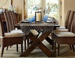 Dining Room Table Pottery Barn Awesome With Image Of Decoration New On Gallery