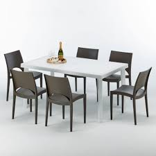 Rectangular Table In Synthetic Rattan, For Outside | IDFdesign All Weather Outdoor Patio Fniture Sets Vermont Woods Studios Small Metal Garden Table And Chairs Folding Cafe Tables And Chairs Outside With Big White Umbrella Plant Decor Benson Lumber Hdware Evaporative Living Ideas Architectural Digest Superstore Melbourne Massive Range Low Prices Depot Best Large Round Outside Iron Home Marvellous How To Clean Store Garden Fniture Ideas Inspiration Ikea