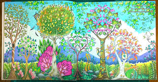 Enchanted Forest Stages In Colouring The Day La