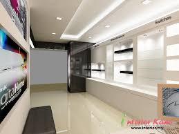 Computer Shop Display Cabinet