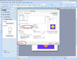 If You Are Select Different Paper Which Is Not Adjust With Document It Will Printed On Type Please Noted The Below Snap