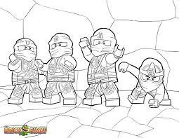 LEGO Ninjago Zukin Ninjas Coloring Pages