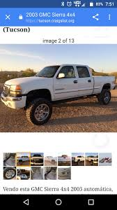 2003 GMC Sierra 2500HD For Sale In Tucson, AZ - CarGurus Craigslist Truck And Cars By Owner Image 2018 Okc Fniture By Owner Sedona Arizona Used And Ford F150 Pickup Trucks Dodge A100 For Sale In Van 641970 Hot Rods Customs For Classics On Autotrader Fniture Interesting Home Design With Elegant Okc Owners Great Stores In Inland Empire Tucson Suvs Under 3000 1962 Thatcher Az Ewillys