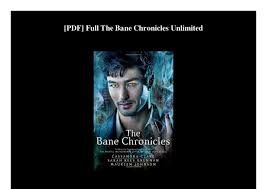 PDF Full The Bane Chronicles Unlimited