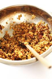 Pumpkin Flaxseed Granola Nutrition Info by Healthy Pumpkin Granola Minimalist Baker Recipes