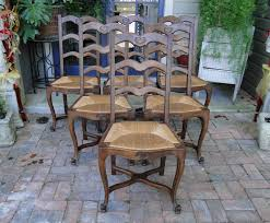 Tall Ladder Back Chairs With Rush Seats by Dining Tables U0026 Chairs French And English Antiques