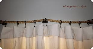 No Drill Curtain Rods Home Depot by Vintage Home Love Curtain Rod And Diy Curtains