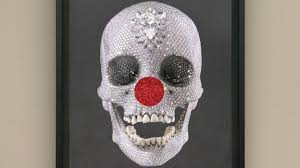 damien hirst reveals new comic relief nose day artwork itv news