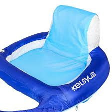 Kelsyus Original Canopy Chair With Ottoman by Amazon Com Kelsyus Deluxe Inflatable Mesh Floating Lounger With