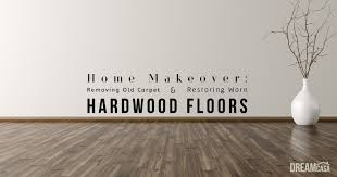 Knee Pads For Hardwood Floor Installers by Home Makeover Removing Carpet And Restoring Hardwood Floors