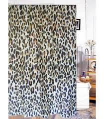 Animal Leopard Print Fabric Shower Curtain T2601 Wholesale Faucet