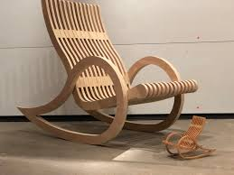 Single Sheet Plywood Rocking Chair Building A Modern Rocking Chair From One Sheet Of Plywood Maple Walnut Cm Creations 366 Chair Vitra Eames Plastic Armchair Rar Chairblogeu Page 2 Of 955 Chairs Design And Dedon Mbrace Summer Fniture That Rocks Bloomberg Designer Rocking Green Rose Mary Green Rosemary R012 Rocking Chair Oak High Quality Sofa Leather Tension Klara Collection Armchairs Poufs By Sketch Houe This Ula From Japan Might Be The Best Hans J Wegner Dolphin Rare Folding With Single Acme Tools