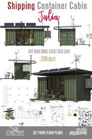 100 Homes From Shipping Containers Floor Plans Cute Small House AFrame Cabins
