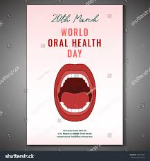 World Oral Health Day Poster Idea With Open Mouth Image Medical Dental And Healthcare