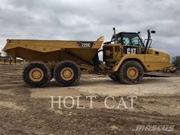 Caterpillar 725C For Sale Austin, TX Price: US$ 253,000, Year: 2014 ...