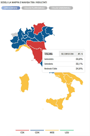 Italian Election 2018 Results Map