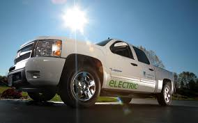 100 Chevy Hybrid Truck Gigaom VIA Motors Rolls Out Converted Hybrid Electric Trucks