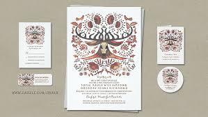 Deer And Woodland Animals Wedding Invites