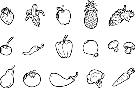 Best Of Fruit Coloring Pages Pdf Gallery 9 L