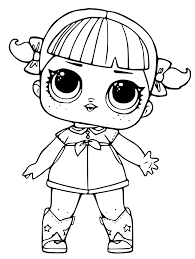 Coloring Page Frozen Pages Print Get Free Printable LOL Surprise Dolls