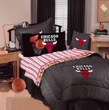 chicago bulls nba bedding denim comforter sheet set combo