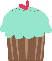 All sorts of cute cupcake cliparts for free Laminate them for