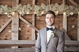 What The Groom Wears For Barn Wedding Rustic Attire