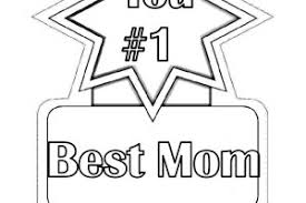 Mothers Day Preschool Coloring Pages