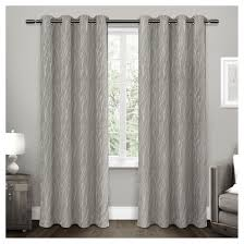 Eclipse Curtains Thermaback Vs Thermaweave by Forest Hill Woven Room Darkening Grommet Top Window Curtain Panel