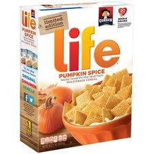 Pumpkin Spice Chex Mix With Candy Corn by News Ready To Fall Into A Box Of Pumpkin Spice Life Cereal