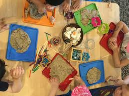 Pumpkin Spice Playdough Pinterest by Plenty Of Loose Parts To Explore Homemade Play Dough With Sand