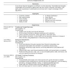 Bus Driver Resume With No Experience Sample Truck Samples Templates Driving Objective
