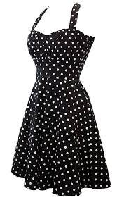 acevog women u0027s halter polka dots 1950s vintage swing tea dresses