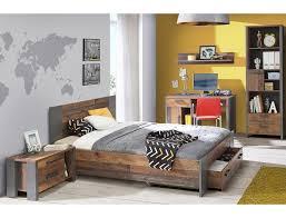 expendio jugendzimmer set cedric spar set 5 tlg wood vintage braun 140x200 cm mit bettschubkasten kaufen otto