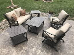 Amazon.com: Agio DAVENPORT 6 PIECE PATIO CONVERSATION SET: Garden ... Agio Majorca Outdoor Sling Swivel Rocker With Inserted Woven Trenton Deep Seat Lounge Chair Westrich Fniture Mhattan 2016 Cast Header Ding By At Johnny Janosik Glider Somerset 7piece Alinum Rectangular Set 2 Swivels And Casttop Table San Tropez 5piece Round Clear Creek Collection Aurora Fire Pit In Brown Wicker Dectable Lush Tall Patio Chairs Folding Rocking Costco Roundup My Whosale Life Peg Perego Siesta High Black Clement