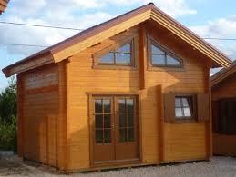 chalet en bois chalets chalet en bois habitable 20m2