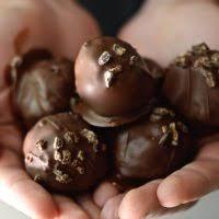 Paleo Triple Chocolate Cake Balls Fed & Fit
