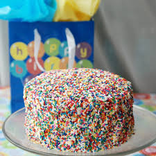 Sprinkle Birthday Cake The Love Nerds