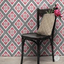 decorative stencils for walls wall stencils for painting trendy classic stencils for diy